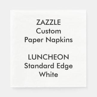 Zazzle kundenspezifisches großes WEISSES Serviette