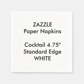 ZAZZLE kundenspezifisches kleines WEISSES Papierserviette