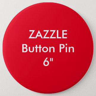"""Zazzle leere Gewohnheit 1 1/4"""" kolossales Knopf Runder Button 15,3 Cm"""