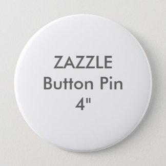 """Zazzle leere Gewohnheit 4"""" enormes Knopf-Button Runder Button 10,2 Cm"""