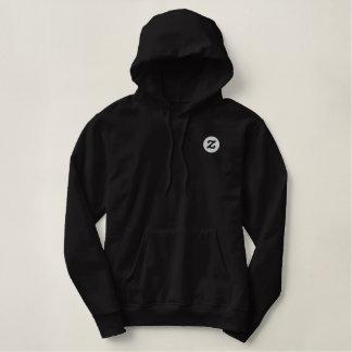 "Zazzle Logo - 2"" CircleZ Bestickter Pullover Hoodie"