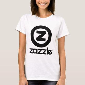 zazzle Logo gestapelt T-Shirt