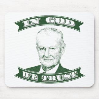 Zbigniew Brzezinski im Gott, den wir vertrauen Mauspads