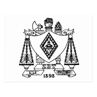 ZBT Wappen Postkarte