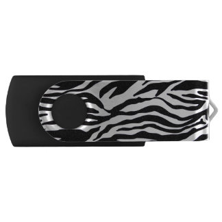 Zebra-Druck Swivel USB Stick 2.0