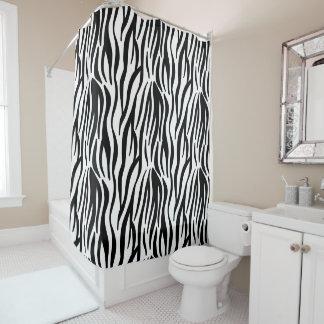Zebra Duschvorhang