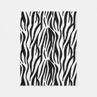 Zebra Fleecedecke