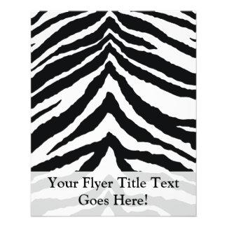 Zebra-Haut-Druck