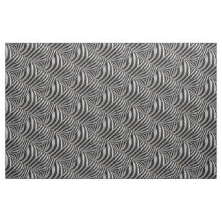 Zebra-Imitat-Leder Stoff