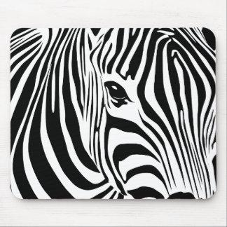 Zebra Mousepad (Schwarzes)
