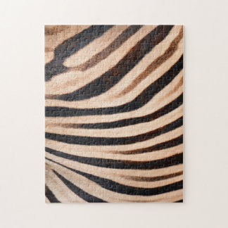 Zebra-Pelz-Puzzlespiel