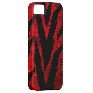 Zebra rotes Iphone 5 Etui Fürs iPhone 5