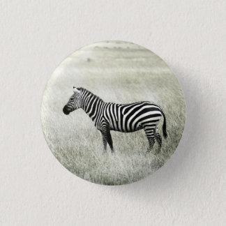 Zebra Runder Button 2,5 Cm