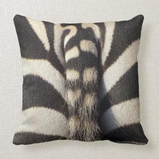 Zebra-Schwanz Kissen