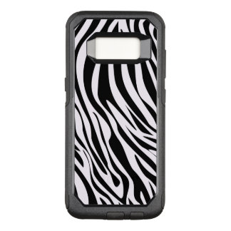 Zebra-Tier Stripes Muster OtterBox Commuter Samsung Galaxy S8 Hülle