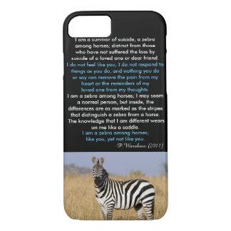 Zebra unter PferdiPhone 7 Fall iPhone 8/7 Hülle