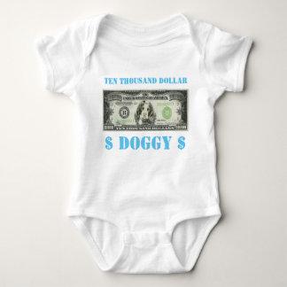 Zehntausend-Dollar-Hündchen-Baby wachsen Baby Strampler