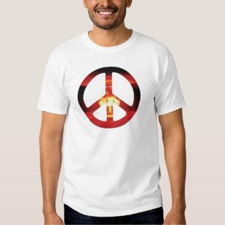 Zeichen der Atombombe-CND Hemd