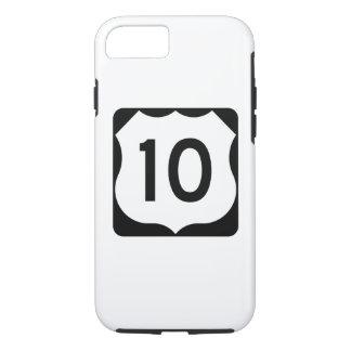 Zeichen US-Weg-10 iPhone 8/7 Hülle