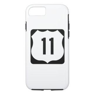 Zeichen US-Weg-11 iPhone 8/7 Hülle