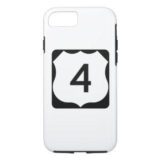Zeichen US-Weg-4 iPhone 8/7 Hülle