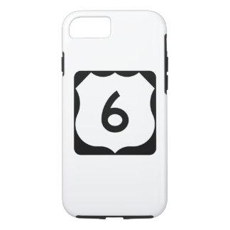 Zeichen US-Weg-6 iPhone 8/7 Hülle
