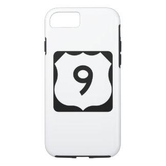 Zeichen US-Weg-9 iPhone 8/7 Hülle