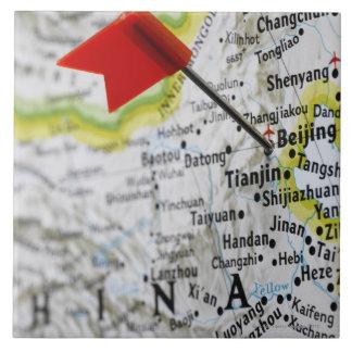 Zeichnen Sie das Button auf, das in Peking, China Keramikfliese