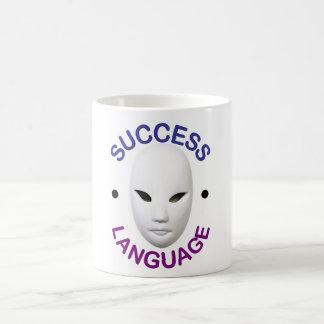 """Zeigen Sie die Welt, die SIE """"Erfolgs-Sprache"""" Kaffeetasse"""
