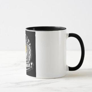 Zeigen Sie Ihre Genie-Schwarzweiss-Tasse an Tasse