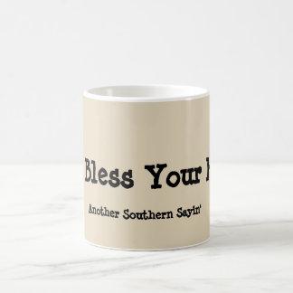 Zeigen Sie Ihre südliche Seite Kaffeetasse