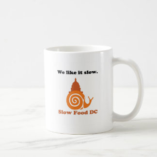 Zeigen Sie Ihren langsamen Nahrung-DC-Stolz! Kaffeetasse