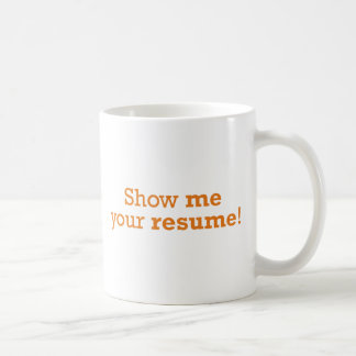 Zeigen Sie mir Ihre Zusammenfassung! Kaffeetasse
