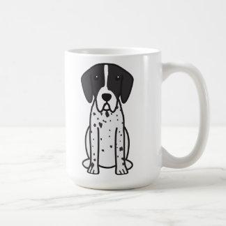Zeiger-HundeCartoon Kaffeetasse