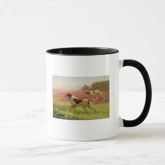 Zeiger in einer Landschaft, 19. Jahrhundert Tasse