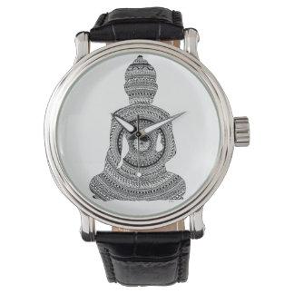 Zeigt Buddha GraphiZen Armbanduhr