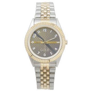 Zeigt für beide Geschlechter mit Armband 2 Töne, Armbanduhr