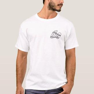"""ZEIT FÄNGT an, sich WIEDER ZU BEWEGEN"" (Weiß) T-Shirt"