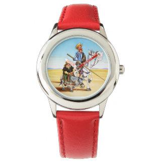 Zeit für Liebe? durch QUIXOTEdotTV Armbanduhr