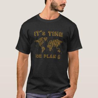 Zeit für Plan B - Schlüsselwährung BTC T-Shirt