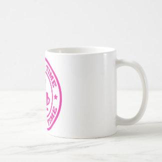 Zeit-Kreis-Pink des Kaffees A251 Tasse