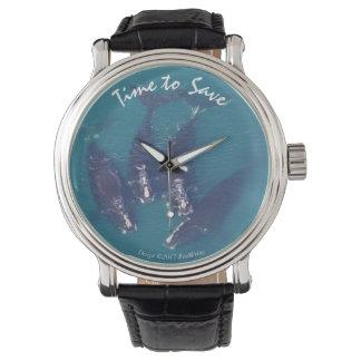 Zeit, Wale durch RoseWrites zu retten Uhr