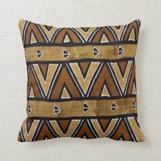 Zeitgenosse: Afrikanischer Art-Entwurf Kissen