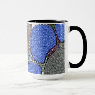 Zeitgenosse: Retro Pop-Kunst-Art Tasse