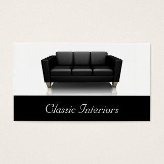 Zeitgenössische Sofa-Visitenkarte Visitenkarten