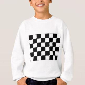 Zeitgenössisches Schwarzes u. Weiß Sweatshirt