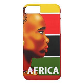 Zell Hülle iPhone 7 Afrika