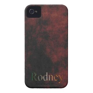 Zellen-Telefon-Namenskasten RODNEY iPhone 4 Hüllen