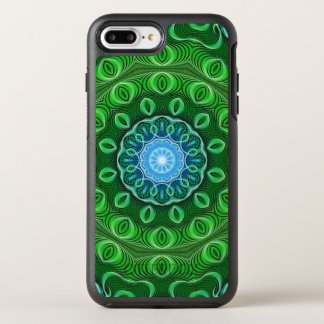 Zellen-Wachstums-Mandala OtterBox Symmetry iPhone 8 Plus/7 Plus Hülle