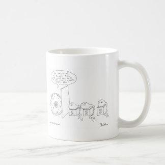 Zellulär verabredete Spiel Kaffeetasse